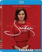 Jackie (2016) (Blu-ray + DVD + Digital HD) (US Version)