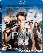 Pan (2015) (Blu-ray) (Hong Kong Version)