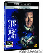Clear and Present Danger (4K Ultra HD + Blu-ray) (2-Disc) (Limited Edition) (Korea Version)
