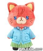 The Quintessential Quintuplets : with Cat Plush Key Ring w/Eyemask Miku Nakano