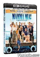 Mamma Mia! Here We Go Again (2018) (4K Ultra HD + Blu-ray) (Hong Kong Version)