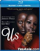 Us (2019) (Blu-ray + DVD + Digital) (US Version)