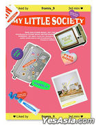 fromis_9 Mini Album Vol. 3 - My Little Society (My account Version) + Poster in Tube (My account Version)