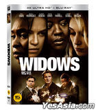 Widows (4K Ultra HD + Blu-ray) (2-Disc) (Slip Case Limited Edition) (Korea Version)