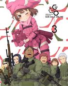 Sword Art Online Alternative Gun Gale Online Vol.3 (DVD) (Limited Edition) (Japan Version)