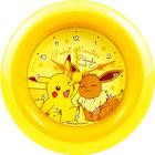 Pokemon Round Alarm Clock (Pikachu & Eievui)