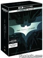 The Dark Knight Trilogy (4K Ultra HD + Blu-ray) (9-Disc) (Outbox Collection Limited Edition) (Korea Version)