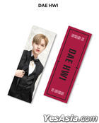 AB6IX 1st ABIVERSARY Fanmeeting Official Goods - Slogan (Dae Hwi)