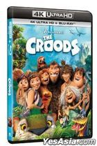 The Croods (2013) (4K Ultra HD + Blu-ray) (Hong Kong Version)