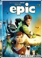 EPIC (2013) (DVD) (Hong Kong Version)