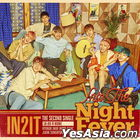 IN2IT Single Album Vol. 2 - INTO THE NIGHT FEVER (18:00 @ Home Version) + Poster in Tube (18:00 @ Home Version)