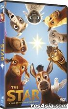 The Star (2017) (DVD) (Hong Kong Version)