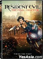 Resident Evil: The Final Chapter (2016) (DVD) (US Version)