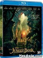 The Jungle Book (2016) (Blu-ray) (3D) (Hong Kong Version)
