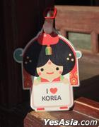 Miraclekorea Traditional Character Travel Name Tag (Version 3) (Bride)