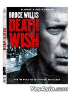 Death Wish (2018) (Blu-ray + DVD + Digital) (US Version)