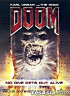 Doom (DVD) (Extended Edition) (Hong Kong Version)