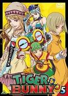 Tiger & Bunny (DVD) (Vol.5) (Japan Version)