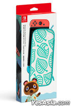 Nintendo Switch Animal Crossing: New Horizons Aloha Edition Carrying Case + Screen Protector (Japan Version)