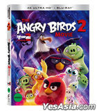The Angry Birds Movie 2 (4K Ultra HD + 2D Blu-ray) (Slip Case First Press Limited Edition) (Korea Version)