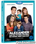 Alexander and the Terrible, Horrible, No Good, Very Bad Day (Blu-ray) (Korea Version)