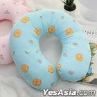 Kakao Friends Little Pattern Neck Cushion (Ryan)