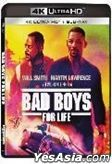 Bad Boys for Life (2020) (4K Ultra HD + Blu-ray) (Hong Kong Version)