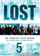 Lost (DVD) (Season 5) (End) (Hong Kong Version)