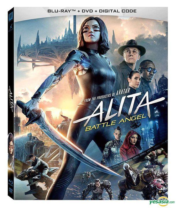 Yesasia Alita Battle Angel 2019 Blu Ray Dvd Digital Us Version Blu Ray Christoph Waltz Rosa Salazar 20th Century Fox Western World Movies Videos Free Shipping