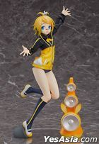 Hatsune Miku -Project DIVA- F 2nd : Kagamine Rin Stylish Energy R Ver. 1:7 Pre-painted PVC Figure