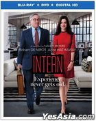 The Intern (2015) (Blu-ray + DVD + Digtial HD) (US Version)