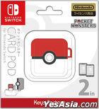Pokemon Card Pod for Nintendo Switch Monster Ball (日本版)