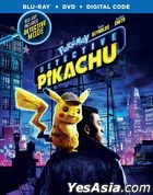 POKÉMON Detective Pikachu (2019) (Blu-ray + DVD + Digital Code) (US Version)