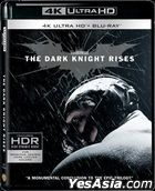 The Dark Knight Rises (2012) (4K Ultra HD + 2 Blu-ray) (3-Disc Edition) (Hong Kong Version)
