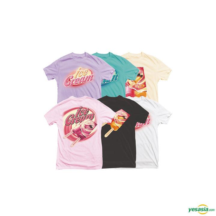 Kpop Blackpink Colorful Kpop T-Shirt BLACKPINK Ice Cream T-Shirt