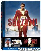 Shazam! (2019) (Blu-ray) (2D + 3D) (Collector's Edition) (Taiwan Version)
