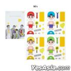 Sechskies 'All For You' Official Goods - Custom Sticker Set (90's)