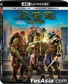 Teenage Mutant Ninja Turtles (2014) (4K Ultra HD + Blu-ray) (2-Disc Edition) (Taiwan Version)