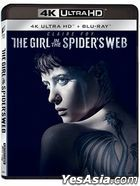 The Girl in the Spider's Web (2018) (4K Ultra HD + Blu-ray) (Hong Kong Version)