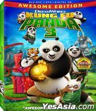Kung Fu Panda 3 (2016) (Blu-ray + DVD + Digital HD) (US Version)