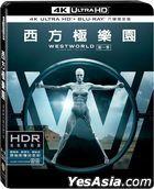 Westworld (4K Ultra HD + Blu-ray) (The Complete First Season) (6-Disc Edition) (Taiwan Version)