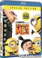 Despicable Me 3 (2017) (Blu-ray) (Hong Kong Version)