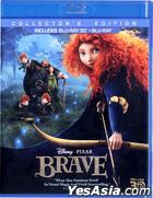 Brave (2012) (Blu-ray) (2D + 3D) (Hong Kong Version)
