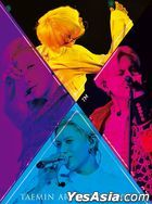 TAEMIN ARENA TOUR 2019 - XTM - [DVD + PHOTOBOOK] (First Press Limited Edition)(Taiwan Version)