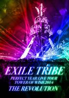EXILE TRIBE PERFECT YEAR LIVE TOUR TOWER OF WISH 2014 -THE REVOLUTION-  (First Press Limited Edition)(Japan Version)