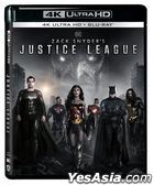 Zack Snyder's Justice League (2021) (4K Ultra HD + Blu-ray) (4-Disc Edition) (Hong Kong Version)