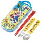 Super Mario Cutlery Set with Case