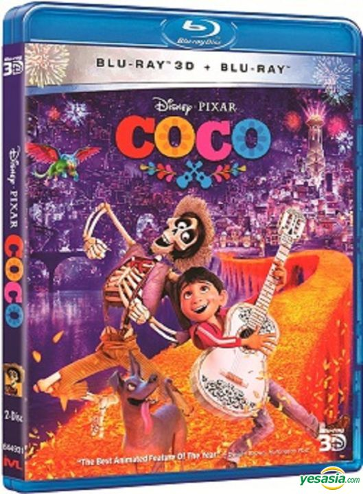 Yesasia Coco 2017 Blu Ray 2d 3d Hong Kong Version Blu Ray Lee Unkrich Adrian Molina Intercontinental Video Hk Western World Movies Videos Free Shipping North America Site