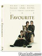 The Favourite (2018) (Blu-ray + DVD + Digital) (US Version)
