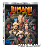 Jumanji: The Next Level (4K Ultra HD + Blu-ray) (Limited Edition) (Korea Version)